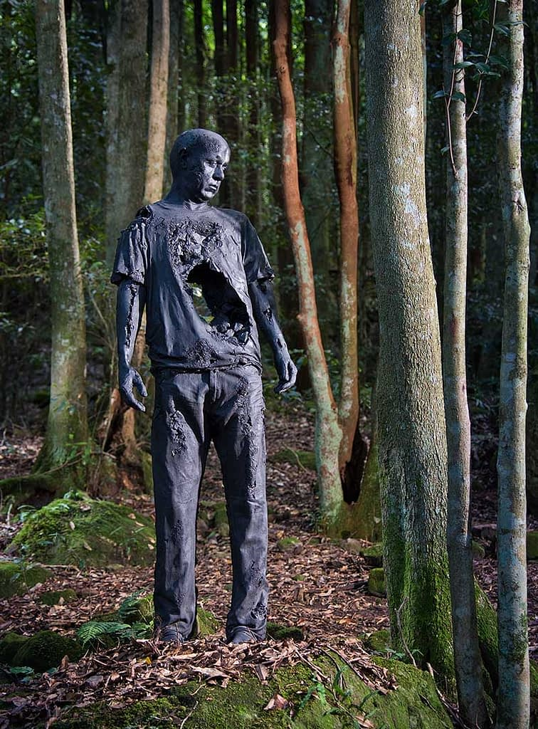 Sculpture at Scenic World in the Blue Mountains opens