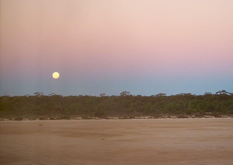 Australia, countryside, landscape, Indian Pacific