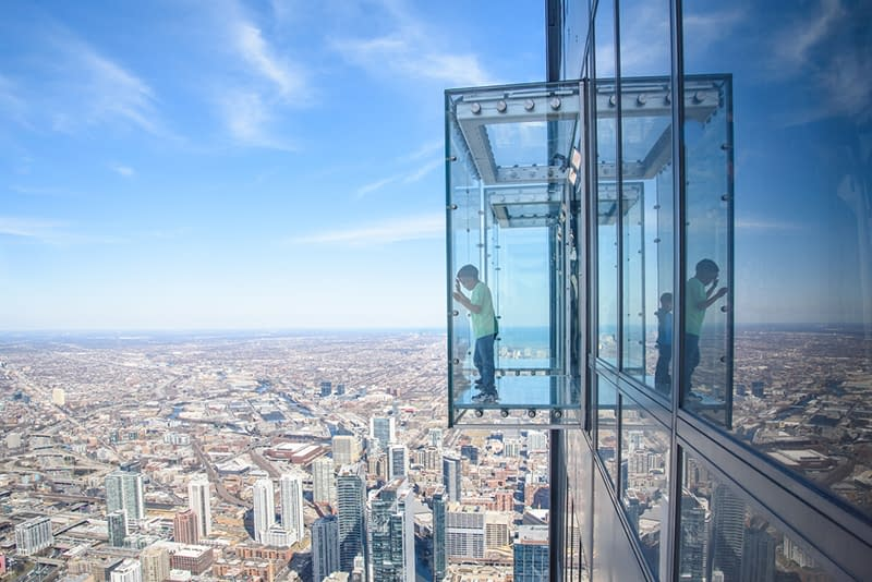 Skydeck Chicago at Willis Tower, Chicago