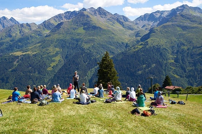 The hills are alive: summer in the Arlberg