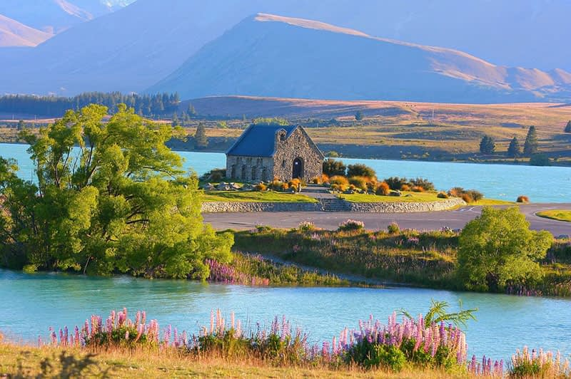 Lake Tekapo, New Zealand, Jared Simcox, General Manager Scoot Airlines